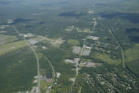 Aerial view of Pocono Mountains Corporate Center East